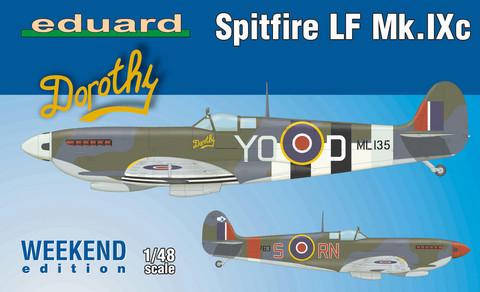 Supermarine Spitfire LF Mk.Ixc, 1:48 (pidemmällä toimitusajalla)