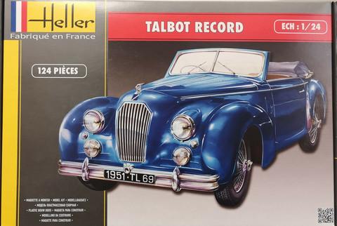 Talbot Record, 1:24