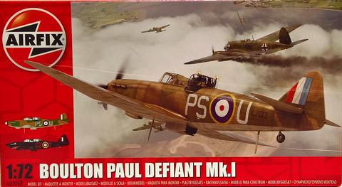 Boulton Paul Defiant Mk.I, 1:72 (pidemmällä toimitusajalla)