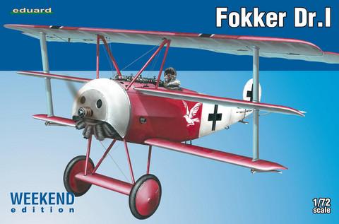 Fokker Dr.I, 1:72