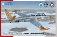 Fouga CM.170 Magister, 1:72 (pidemmällä toimitusajalla)