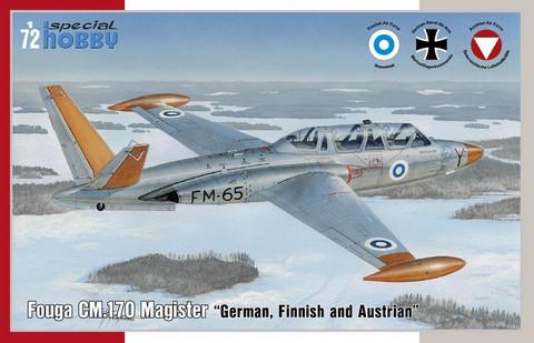 Fouga CM.170 Magister, 1:72