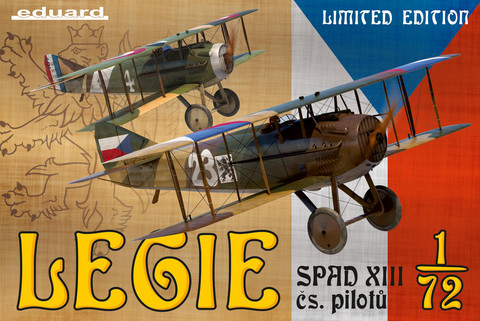 Legie (Spad XIII cs.pilotu) Limited Edition, 1:72