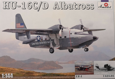 HU-16C/D Albatross, 1:144