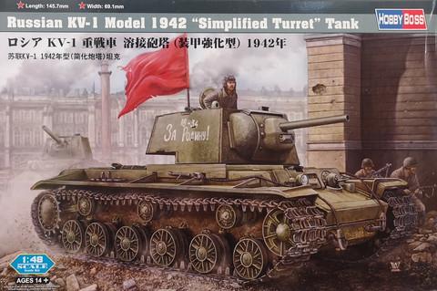 Russian KV-1 Model 1942