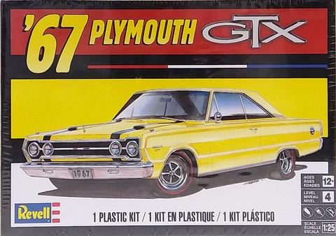 Plymouth GTX '67, 1:25 (pidemmällä toimitusajalla)