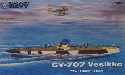 CV-707 Vesikko, 1:72 (pidemmällä toimitusajalla)