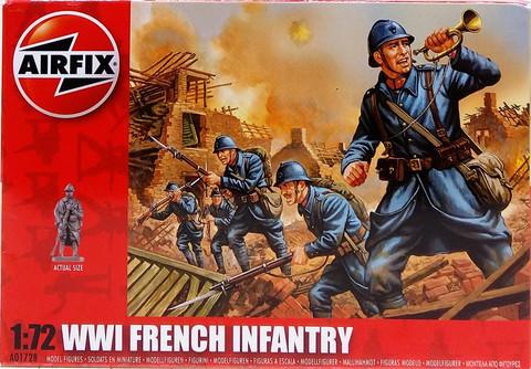 WWI French Infantry, 1:72