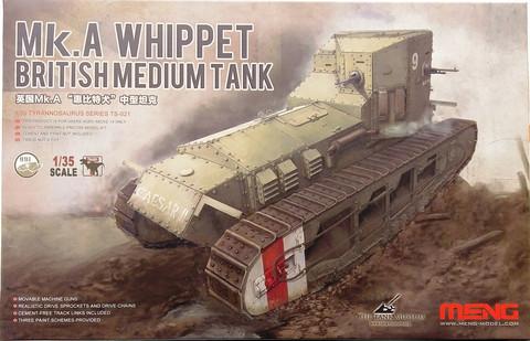 British Medium Tank Mk.A Whippet, 1:35 (pidemmällä toimitusajalla)