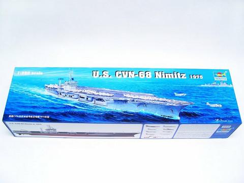 Aircraft carrier USS Nimitz CVN-68 1975, 1:350 (pidemmällä toimitusajalla)