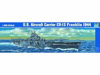 Aircraft carrier USS CV-13 Franklin, 1:350 (pidemmällä toimitusajalla)
