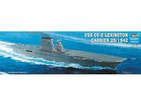 Aircraft carrier USS Lexington CV-2, 1:350 (pidemmällä toimitusajalla)