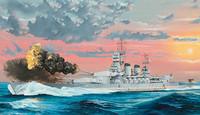 Italian Navy Battleship RN Littorio 1941, 1:350 (pidemmällä toimitusajalla)