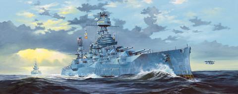 USS Texas BB-35, 1:350 (pidemmällä toimitusajalla)