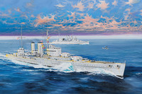 HMS Exeter, 1:350 (pidemmällä toimitusajalla)
