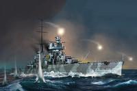 Italian Heavy Cruiser Fiume, 1:350 (pidemmällä toimitusajalla)
