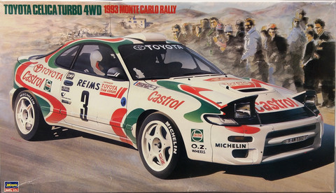 Toyota Celica Turbo 4wd 1993 Monte Carlo Rally, 1:24