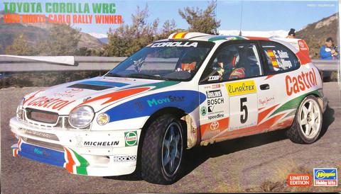 Toyota Corolla WRC 1998 Monte-Carlo Rally Winner, 1:24