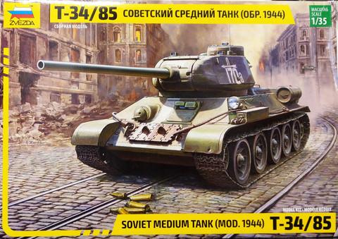 Soviet Medium Tank Mod. 1944 T-34/85, 1:35 (pidemmällä toimitusajalla)