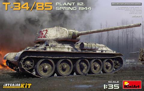 T-34-85 Plant 112. Spring 1944. Interior Kit, 1:35 (pidemmällä toimitusajalla)