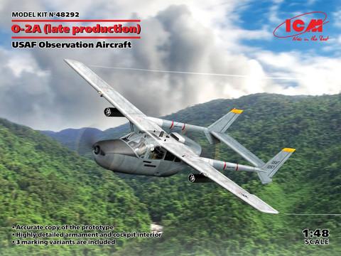 O-2A (late production), USAF Observation Aircraft, 1:48 (pidemmällä toimitusajalla)