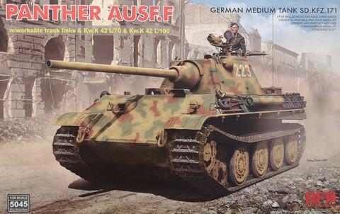 German Medium Tank Sd.Kfz.171 Panther Ausf. F, 1:35
