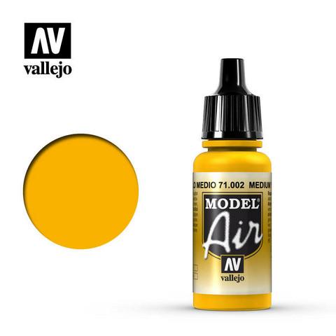 Medium Yellow, Model Air 17ml