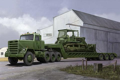 M920 Tractor tow M870A1 Semi Trailer, 1:35 (Pidemmällä toimitusajalla)