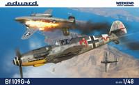 Bf 109G-6, Weekend Edition, 1:48 (Pidemmällä toimitusajalla)