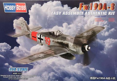 Fw190A-8, 1:72 (pidemmällä toimitusajalla)
