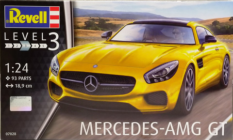 Mercedes-AMG GT, 1:24