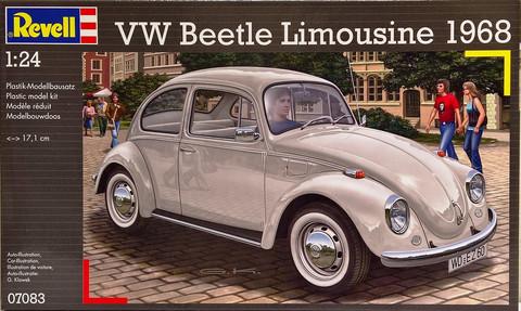 Volkswagen Beetle Limousine '68, 1:24 (pidemmällä toimitusajalla)