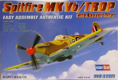 Spitfire Mk Vb/Trop with Aboukir Filter, 1:72