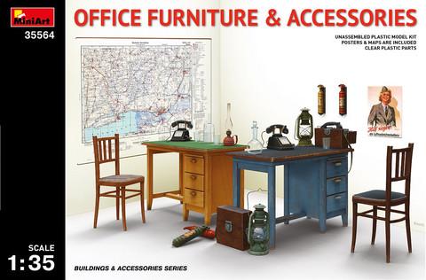 Office Furniture & Accessories, 1:35