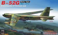 B-52G early type in Linebacker II Vietnam war 1967-1972, 1:72 (pidemmällä toimitusajalla)