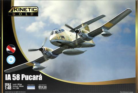 IA-58 Pucara, 1:48 (Pidemmällä toimitusajalla)