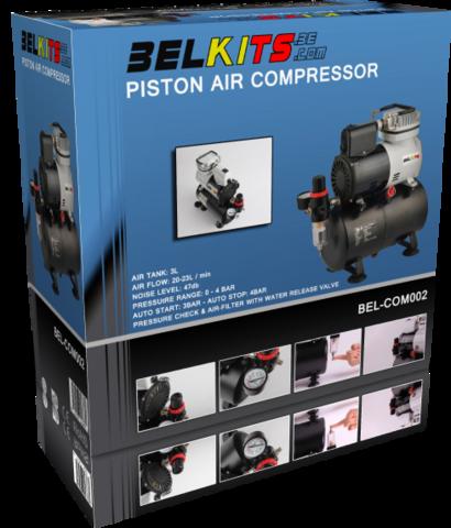 Piston Air Compressor (pidemmällä toimitusajalla)