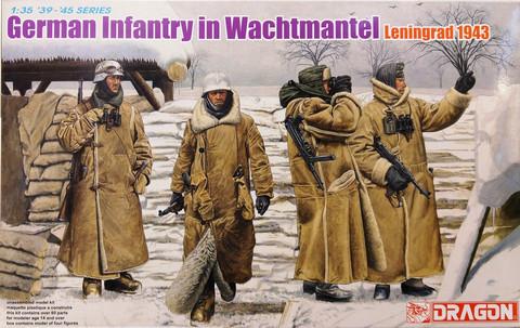 German Infantry in Wachtmantel (Leningrad 1943), 1:35