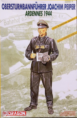 Obersturmbannführer Joachim Peiper Ardennes 1944, 1:16