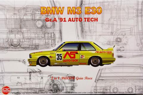BMW M3 E30 Gr.A '91 Auto Tech, 1:24