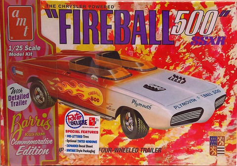 Plymouth Fireball 500 SSXR, 1:25
