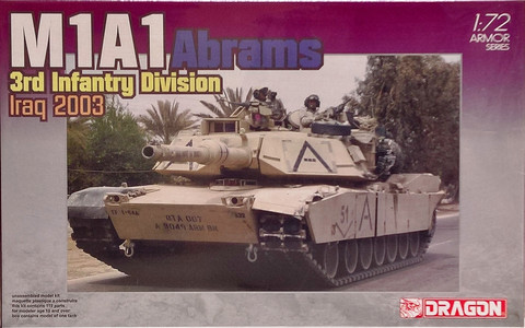 M1A1 Abrams 3rd Infantry Division Iraq 2003, 1:72