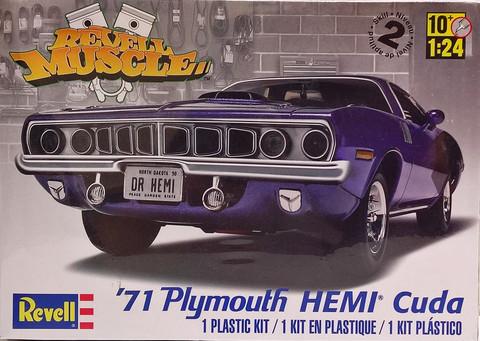 Plymouth Hemi Cuda 426 '71, 1:24