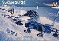 Sukhoi SU-34 (sis.extraa), 1:72