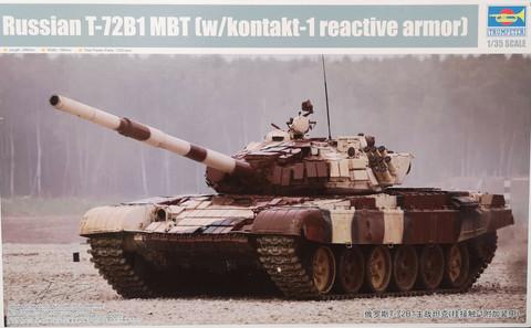 Russian T-72B1 MBT, 1:35 (pidemmällä toimitusajalla)