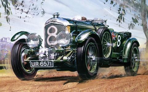 1930 4.5 litre Bentley, 1:12 (Pidemmällä Toimitusajalla)