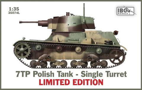 7TP Polish Tank - Single Turret, LIMITED EDITION, 1:35 (Pidemmällä toimitusajalla)