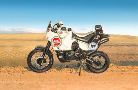 Cagiva Elephant 850 Paris-Dakar 1987, 1:9 (Pidemmällä Toimitusajalla)