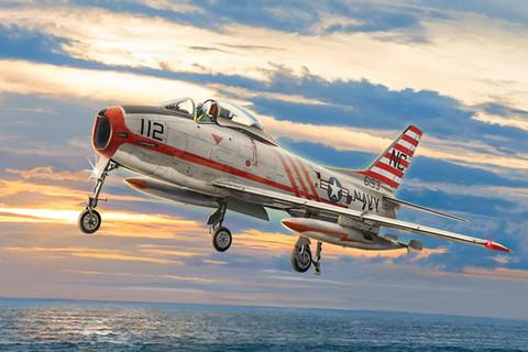 North American FJ-2/3 Fury, 1:48 (Pidemmällä Toimitusajalla)