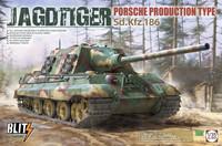 Jagdtiger Porsche Production Type, 1:35